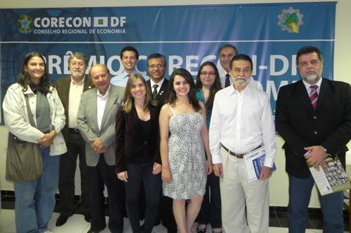 Prêmio Corecon-DF de Economia entrega 15 mil em premiação