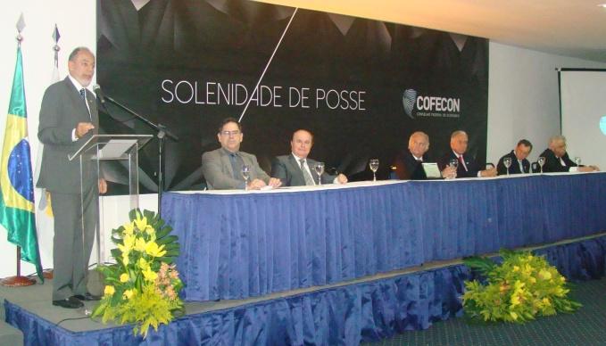 COFECON realiza cerimônia de posse da presidência de 2015