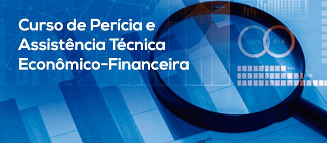 Inscrições abertas para Curso de Perícia e Assistência Técnica Econômico-Financeira