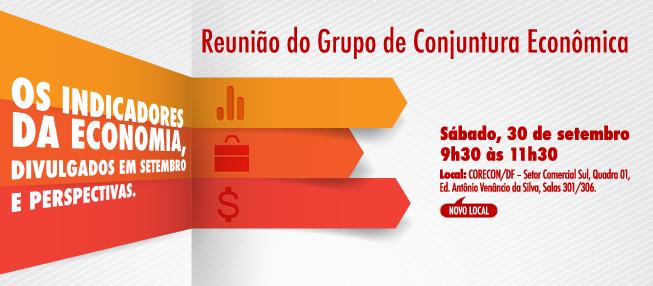 Reunião do Grupo de Conjuntura Econômica