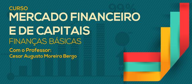 """Inscrições abertas para o curso de """"Mercado Financeiro e de Capitais"""""""