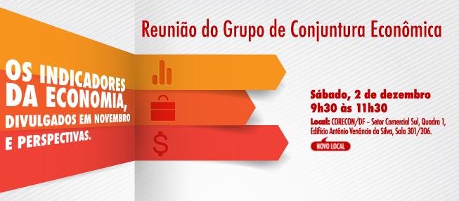 CONVITE: Reunião do Grupo de Conjuntura Econômica