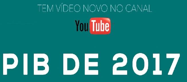 Tem vídeo novo no Canal!!! PIB 2017, por José Luis Oreiro.