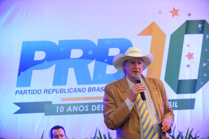 MODA DE VIOLA COM SÉRGIO REIS MARCA ANIVERSÁRIO DE 10 ANOS DO PRB