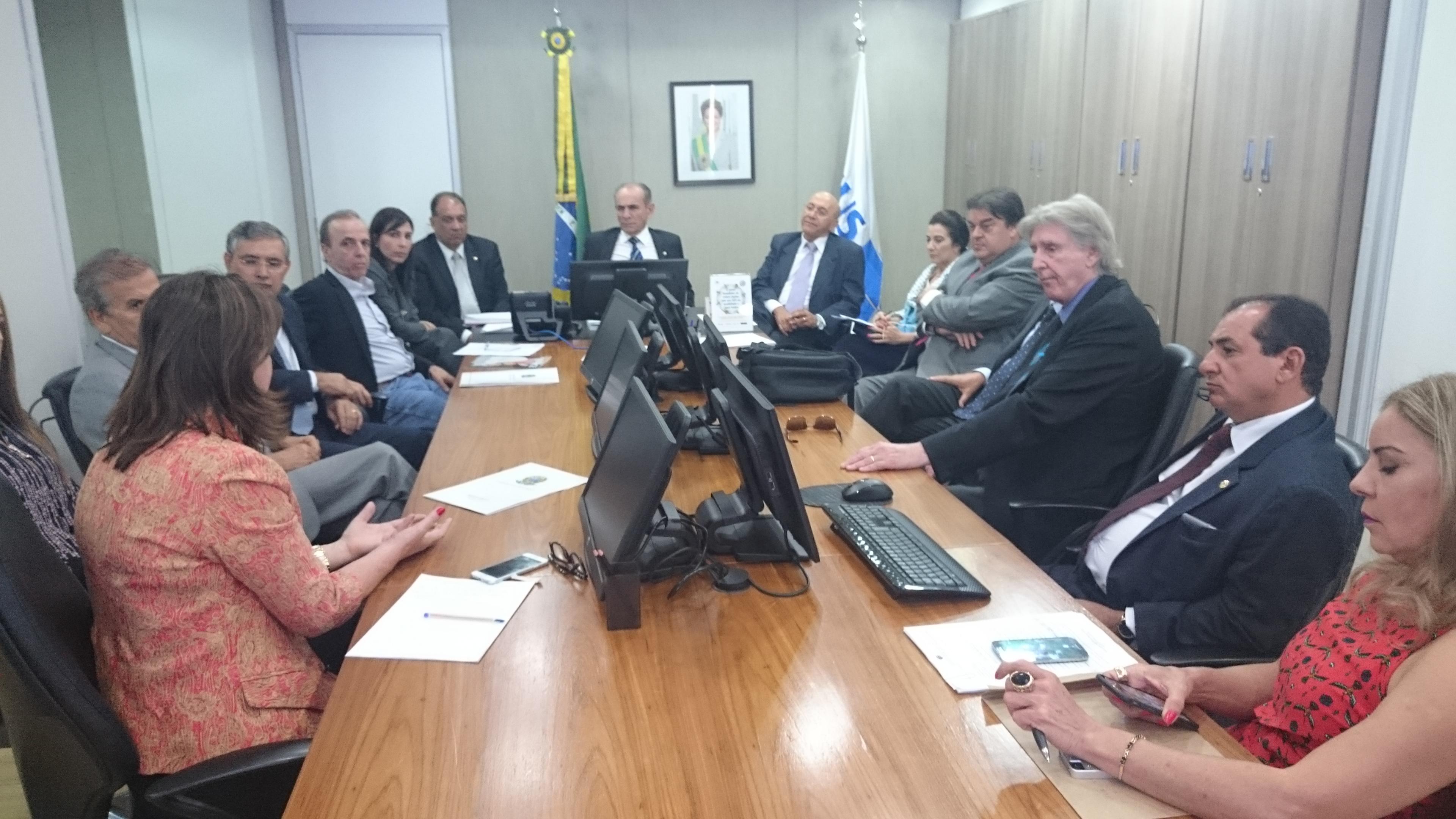 HOSPITAL DO CÂNCER DA AMAZÔNIA É TEMA DE REUNIÃO COM MINISTRO