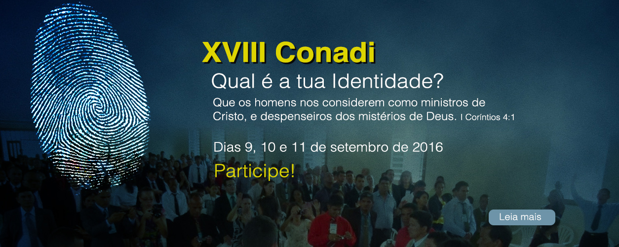 XVIII Conadi 2016
