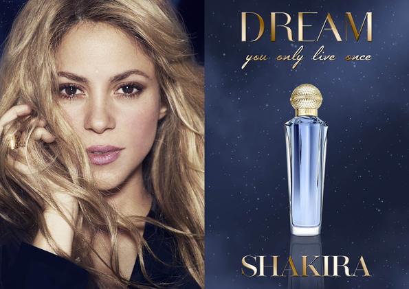 Perfume  Dream Shakira Um sonho que se tornou realidade!